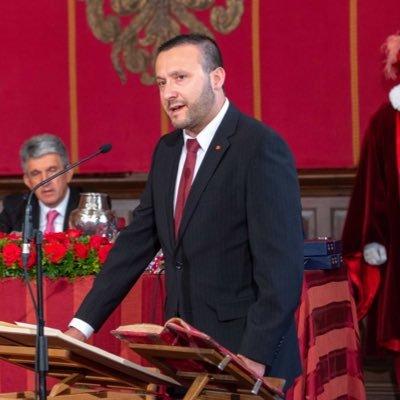 Luis Miguel Núñez Gil  jurando su cargo en el Ayuntamiento de Toledo
