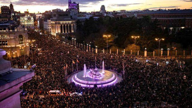 Manifestación en Madrid 8-M / Europa Press