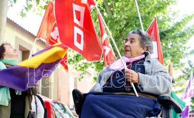 Vean las imágenes de la manifestación en Talavera por el Día del Trabajo