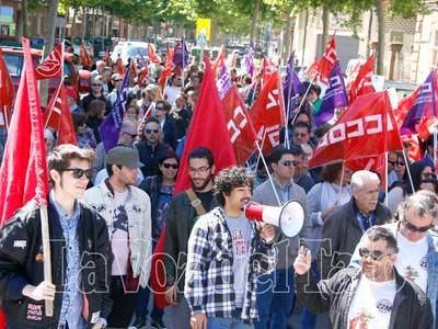 CCOO llama a movilizarse en Talavera el 1 de mayo