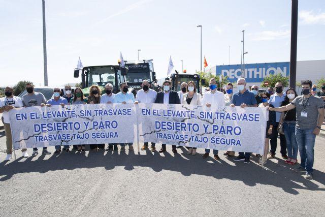 Murcia se manifiesta a favor del trasvase Tajo-Segura