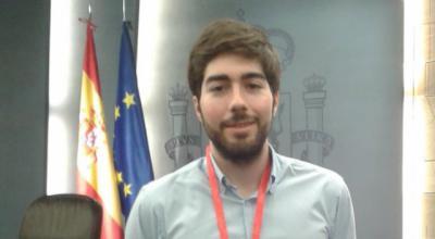 El talaverano Manuel Mariscal, jefe de prensa de Vox, cabeza de lista al Congreso por Toledo