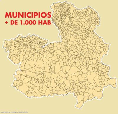 CONTAGIOS | Consulta los contagios por municipios de más de 1.000 habitantes en CLM (completo)