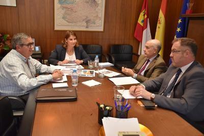 El Gobierno regional colabora con el Ayuntamiento de Maqueda en proyectos de urbanismo y carreteras