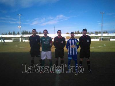 Encuentro entre el Cd marchamalo y el CF Talavera en la temporada 2016/17