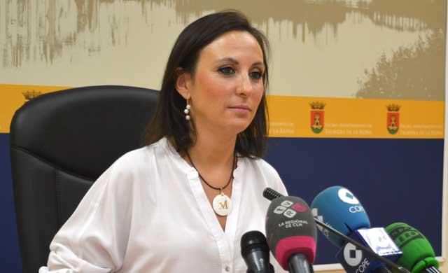 Imagen de archivo de la portavoz María Rodríguez