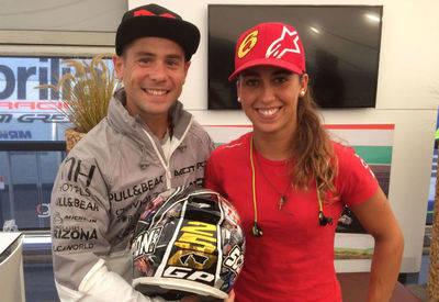 La piloto oropesana María Herrera vuelve al Mundial de Moto3