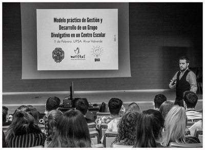El colegio Maristas de Talavera presenta 'IDEA' en la UP de Salamanca