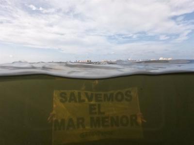 Desastre Mar Menor: Greenpeace pide trasvase cero y reducir regadíos industriales