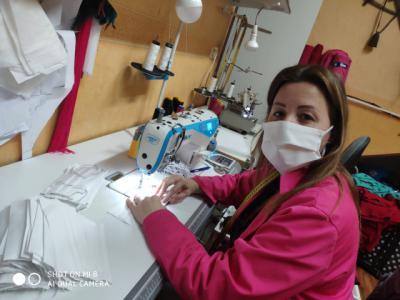CORONAVIRUS | Mascarillas para Cáritas desde Segurilla