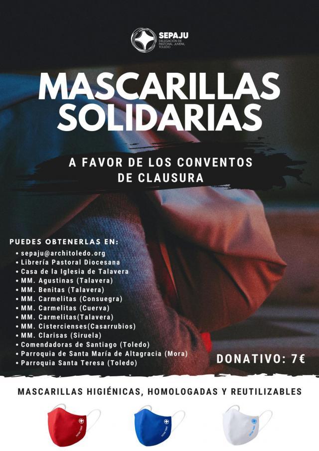 COVID-19 | Mascarillas solidarias de la Archidiócesis
