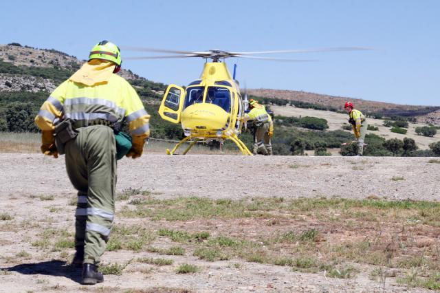 Preocupación ante el posible cierre de la base contra incendios de la Jara y los Montes de Toledo