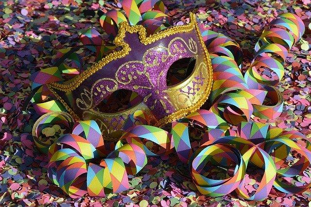 Máscara de Carnaval | Pixabay