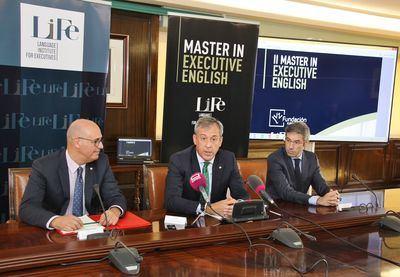 """Presentación oficial del """"Master in Executive English"""" de la Fundación Eurocaja Rural y LIFe"""