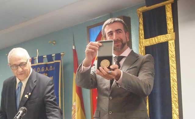 El escritor toledano José Ignacio Carmona, Medalla de las 4 Sinagogas