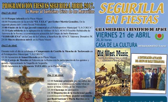Comienzan las fiestas en Segurilla en honor al Santísimo Cristo de las Maravillas