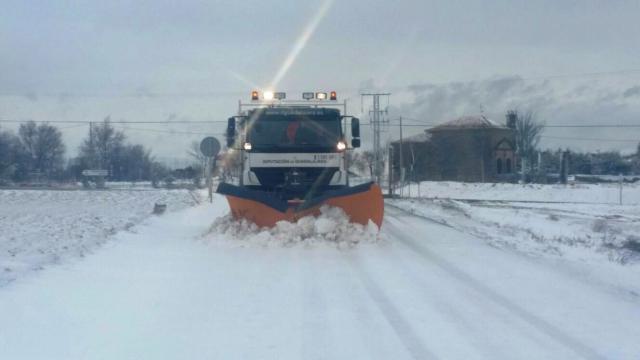 Activado el METEOCAM en Castilla-La Mancha en fase de emergencia nivel 1 por la nieve