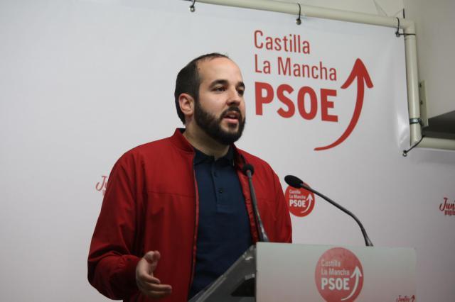 El diputado regional del PSOE Miguel González