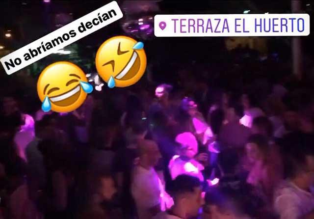 La terraza El Huerto 'ridiculiza' al Ayuntamiento de Talavera