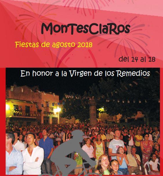 Del 14 al 18 de agosto, la fiesta no para en Montesclaros
