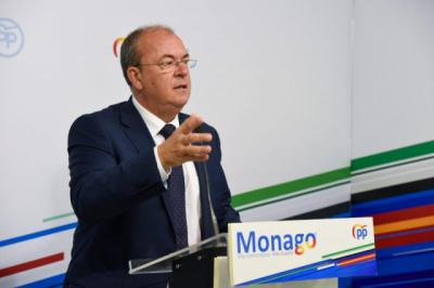 Monago, líder del PP en Extremadura, será relevado de su puesto