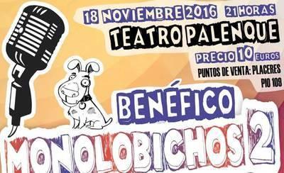 Este viernes se celebra en el Palenque la II edición de la Gala MonoloBichos