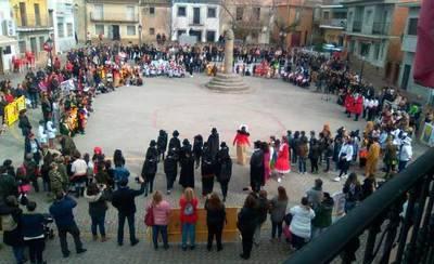 El CRA 'Ribera del Guadyerbas' celebra el Carnaval en Montesclaros