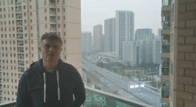 """VÍDEO   Pedro Morilla, exentrenador del CF Talavera, atrapado en Wuhan: """"Estamos a la espera de la repatriación"""""""
