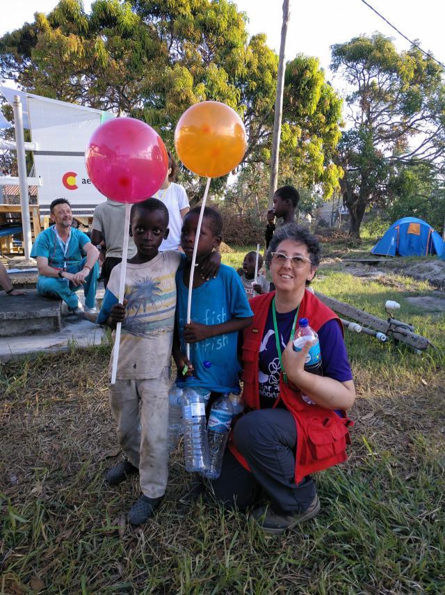 Una enfermera ciudadrealeña formó parte del equipo 'Start'