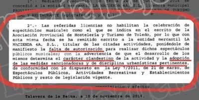 15.000 euros de multa para la fiesta clandestina