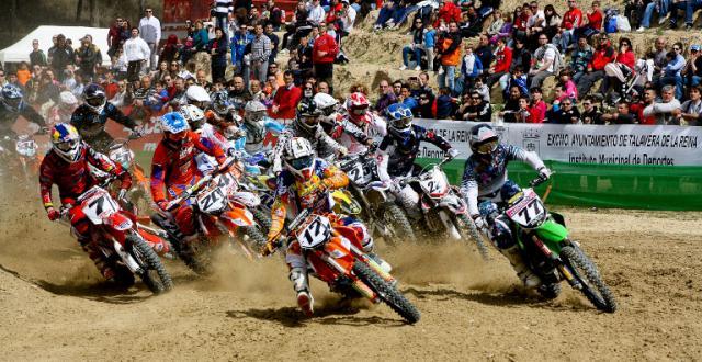 La lluvia aplaza el Campeonato de España de Motocross en Talavera