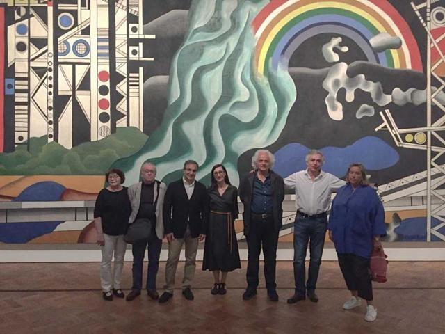 Toledo y Bruselas expondrán próximamente una muestra del artista Yves Zurstrassen