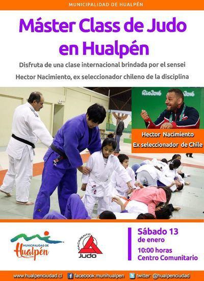 El talaverano Héctor Nacimiento imparte cursos de judo en América Latina