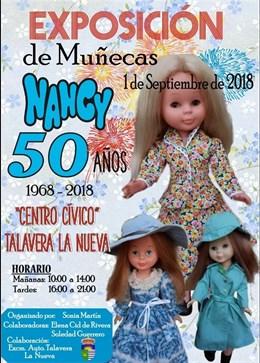 Una exposición en Talavera la Nueva mostrará casi un centenar de muñecas Nancy