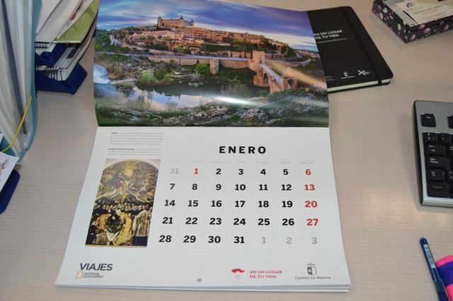 Los lugares más emblemáticos de Castilla-La Mancha protagonizan el calendario 2019 de la revista Viajes National Geographic