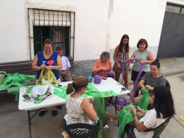 Un toldo nuevo para sus fiestas de 2020 con bolsas de plástico recicladas