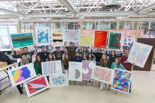 Una toledana, entre las alumnas de la Universidad de Navarra que han creado la exposición de sellos 'Filateliun'
