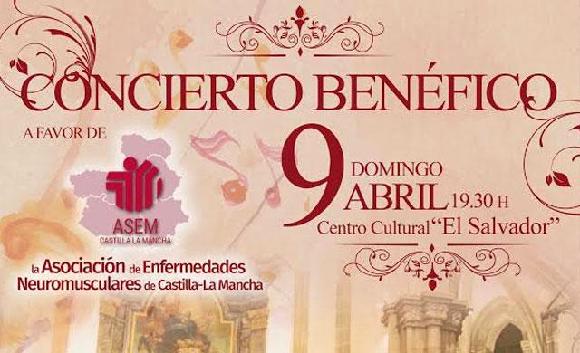'El Salvador' acogerá un concierto benéfico en favor de ASEM