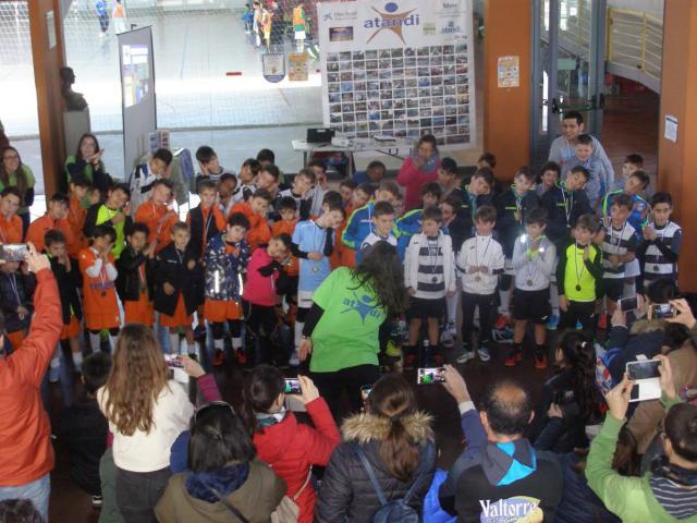 Talavera mostró su cara más solidaria en el IX Torneo Inclusivo de ATANDI