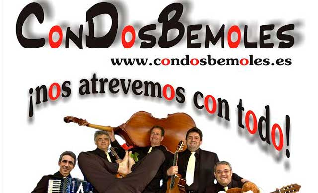 El Palenque acoge el recital benéfico 'Con Dos Bemoles' a favor de AFATA