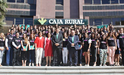 86 alumnos comienzan sus prácticas universitarias en Caja Rural CLM