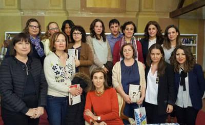 Carmen Posadas presenta en Talavera su último libro 'La Hija de Cayetana'