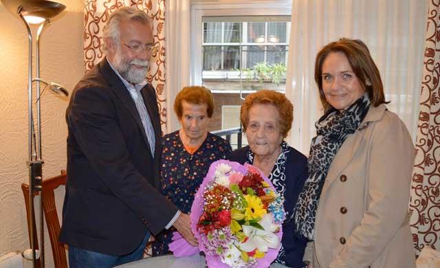 Germana Sánchez-Rubio, otra centenaria en Talavera de la Reina