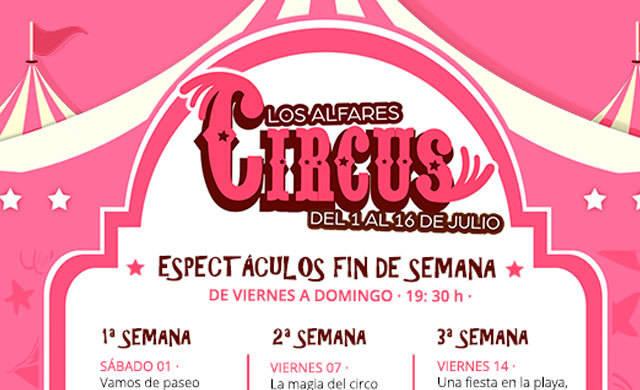 El centro comercial Los Alfares trae la magia y la ilusión del circo