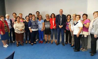 CLM destaca la labor de la Asociación de Mujeres de Patrocinio