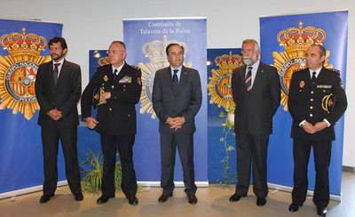 José María Delgado nuevo comisario jefe de la Policía Nacional de Talavera