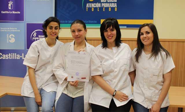 Enfermeras residentes de Toledo premiadas por un proyecto de investigación