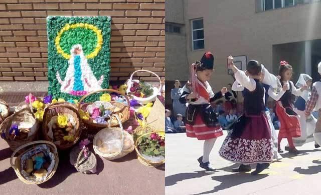 Los alumnos del colegio EXA celebraron su propio Cortejo de Mondas