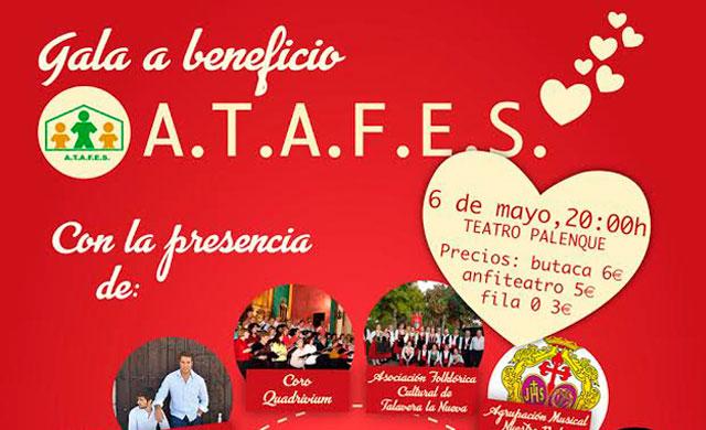 El Palenque acogerá el sábado la Gala benéfica de ATAFES