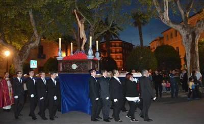 El Cristo del Mar presidió el Vía Crucis de los Jóvenes de Talavera y comarca